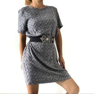 🔥 H&M Women's Gray Long Blouse Dress 🔥